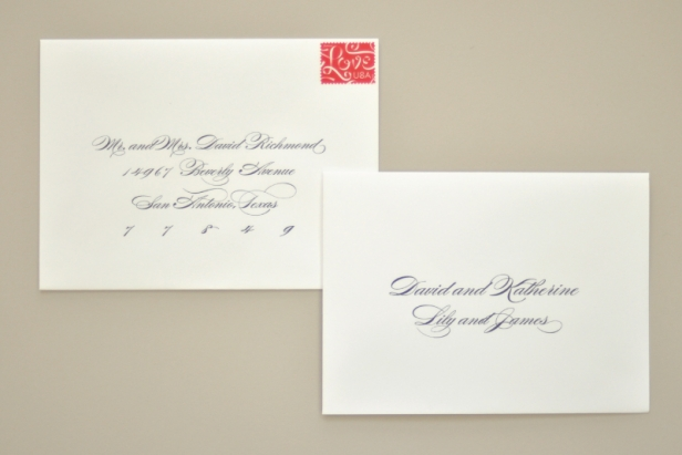 Stuffing Wedding Invitations With Inner Envelope: Kids At Your Wedding