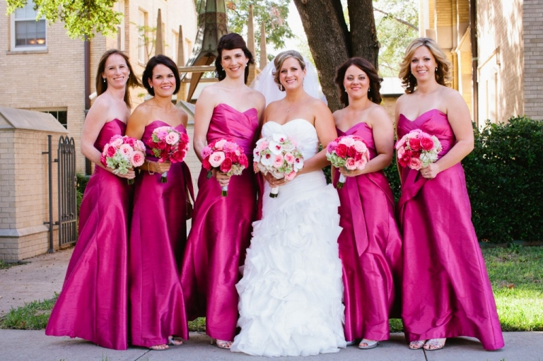 Having Matching Bridesmaids Allows For One Unified Look Your Bridal Party Not To Mention A Cohesive All Pictures