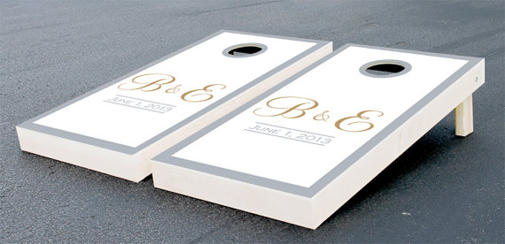 Etsy Pick of the Week - Cornhole at a wedding | Hitched Events, LLC ...