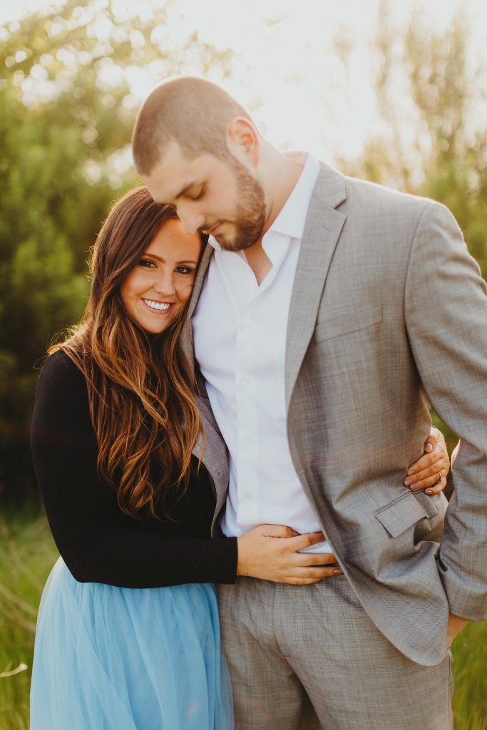 Outdoor engagement photos - Photo by Two Pair Photography