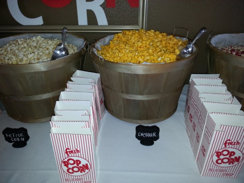 Wedding DIY Done Right - Popcorn Buffet | Hitched Events ...