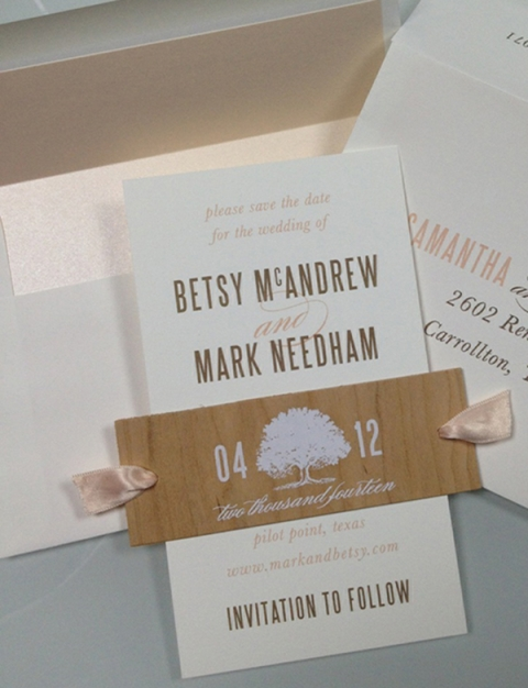 Betsy and Mark Save the Date