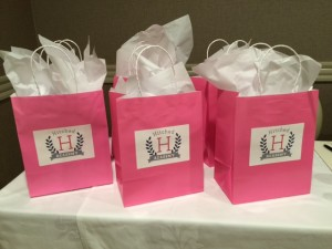Hitched Academy Goody Bags