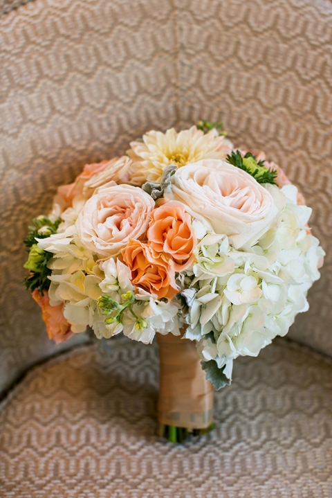 Summer bridesmaid bouquet - Photo by Jenny Martell Photography