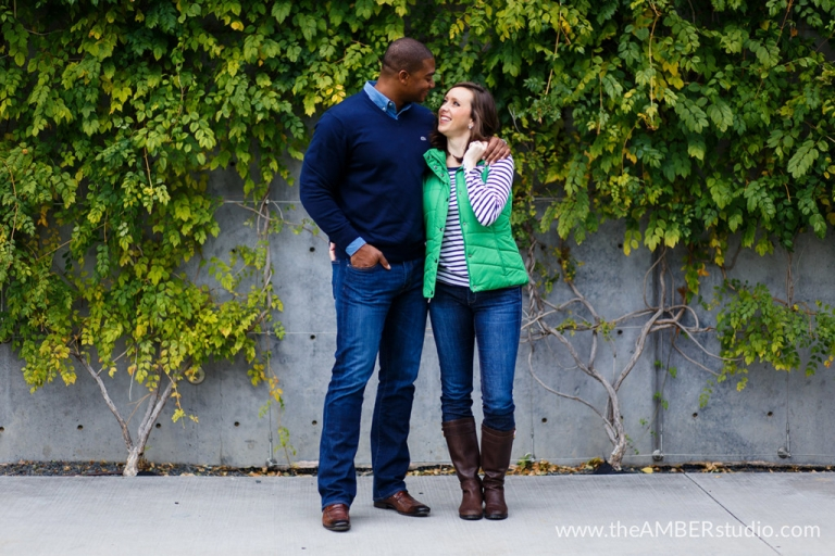 Outdoor engagement photos - Photo by The Amber Studio