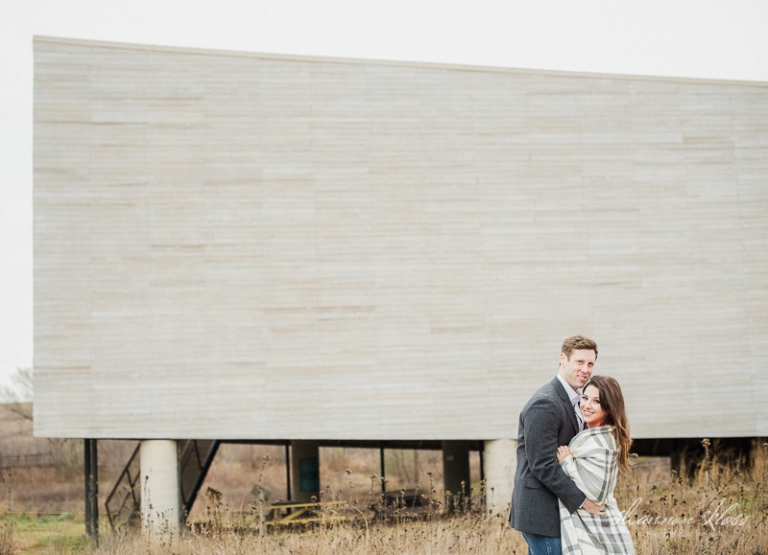 Engagement photos at Trinity River Audubon Center - Photo by Shannon Skloss Photograhy