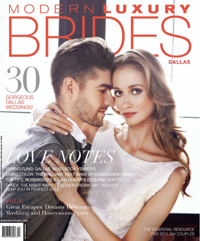 Bonnie and Max's Ashton Depot wedding in Dallas Modern Luxury Brides - Photos by Devon J Imagery