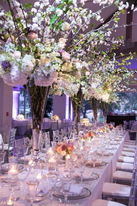 Whimsical head table at Four Seasons Las Colinas - Photo by TRU Identity Photography + Designs