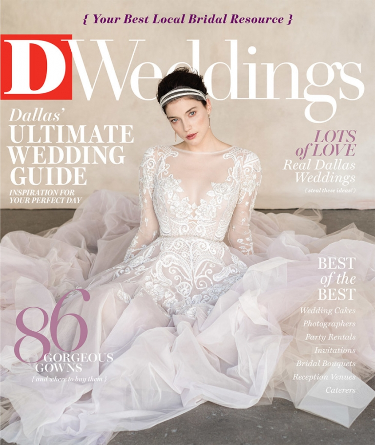 Seidel Fleming Wedding DWeddings Spring 2016 Cover