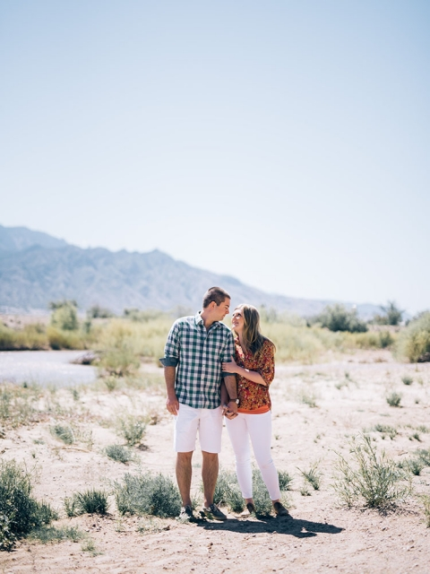 Outdoor engagement photo session in New Mexico - Photos by The Waldron Photograph Co.