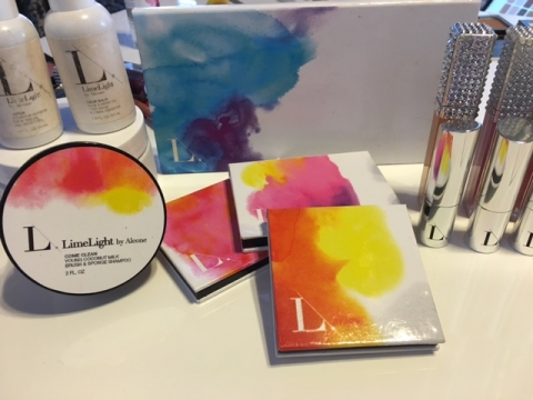 Limelight by Alcone all natural skincare line and personalized makeup palettes
