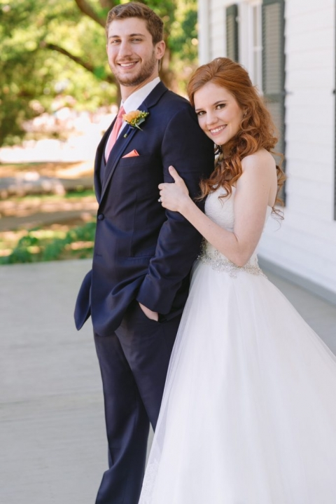 Samantha and Ronnie The Blogging Bride Hitched Events Blog spring 2016 wedding at Dallas Heritage Village in Dallas, Texas - Photos by Evan Godwin Photography