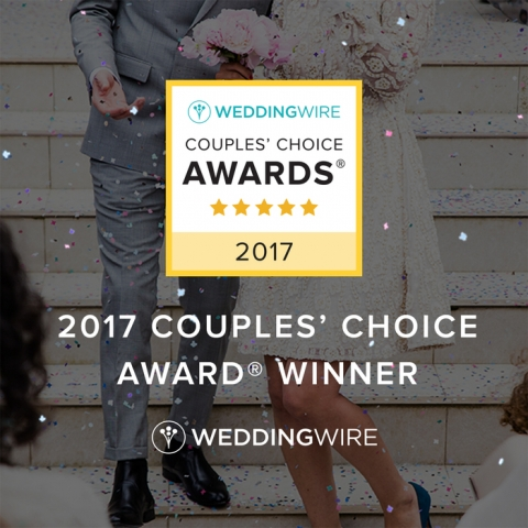 2017 Wedding Wire Couple's Choice Award Winner - Dallas Fort Worth Wedding Planner Hitched Events